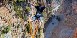 Bungy Jumping in Greece, Crete